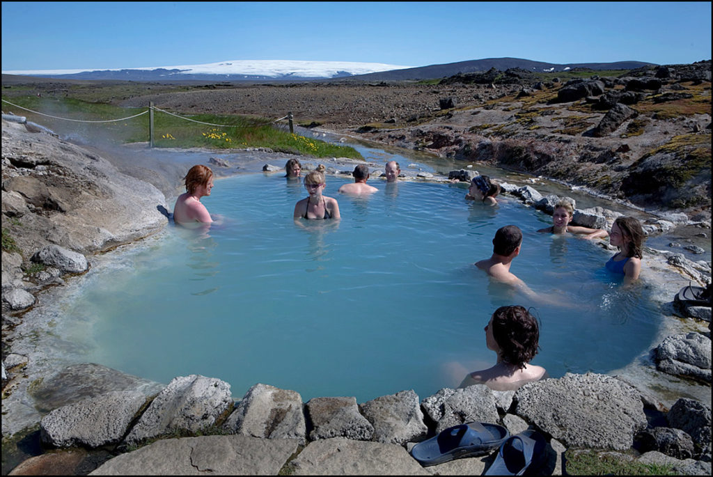 pools in Iceland as a touristic destination