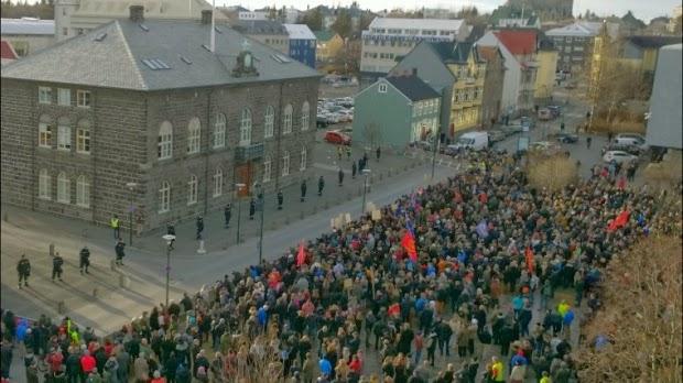 strike in Iceland