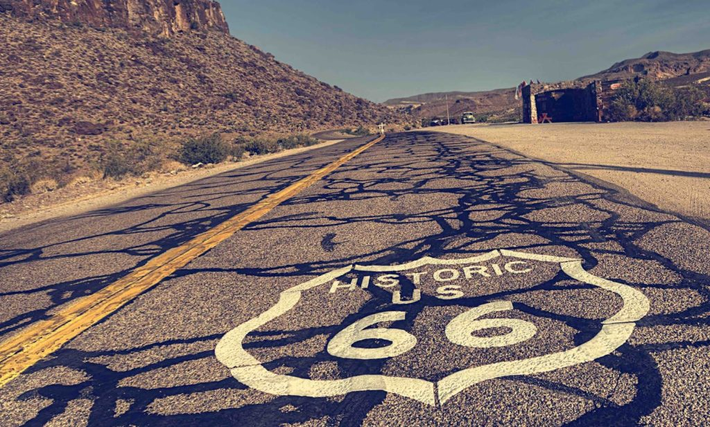 the original Route 66!