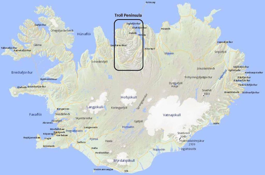 Tröllaskagi: Troll Peninsula
