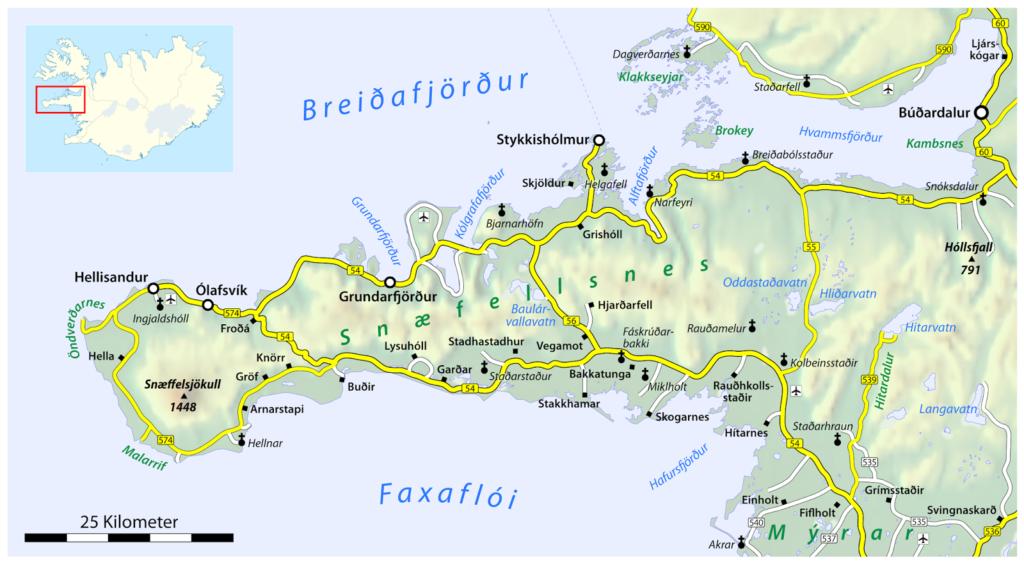 The Snæfellsnes Peninsula