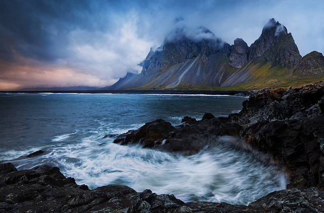 East Fjords in Iceland