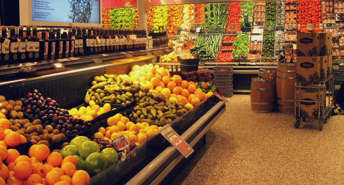 Supermarket shopping in Iceland