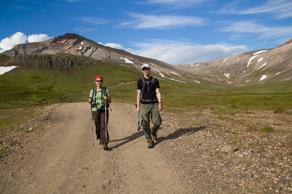 7 day hiking trip in Eastern Iceland - Trip report