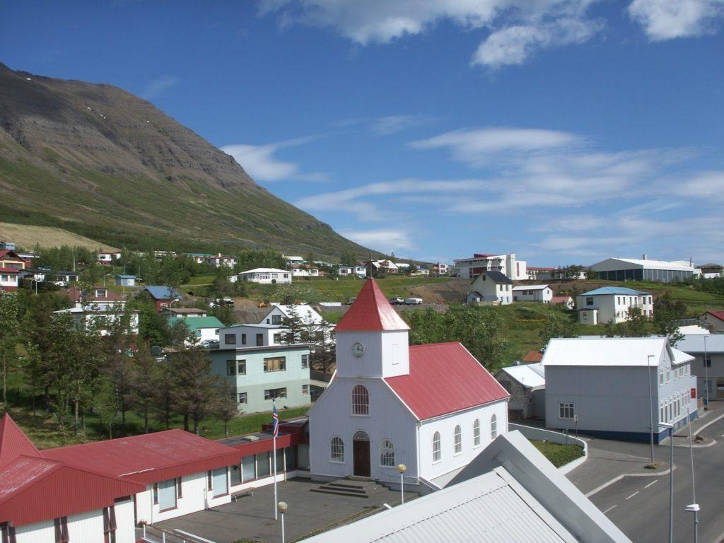 The cozy fishing village Neskaupstaður - Eastern Iceland