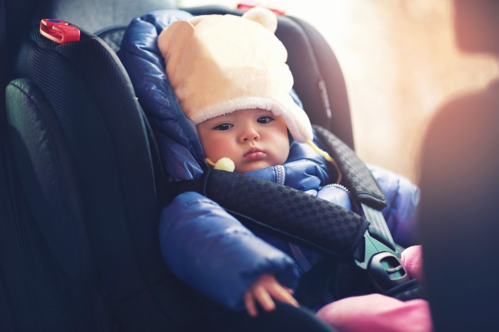 Baby car seat. The Law in Iceland