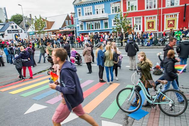 Over 100,000 celebrate at Reykjavik Gay Pride every year!
