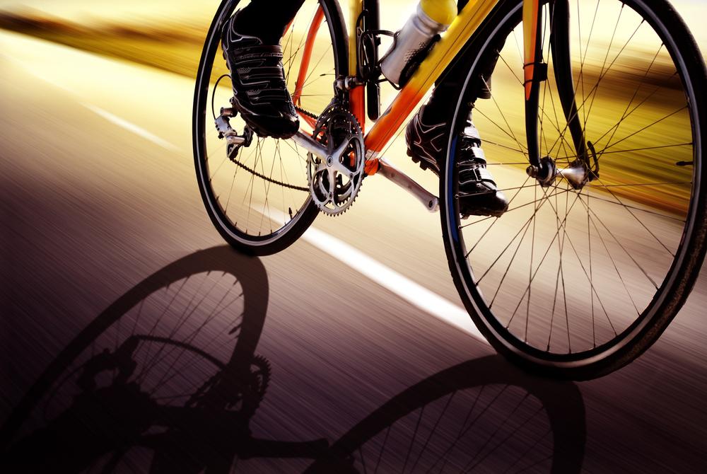 Bike race in Iceland in June