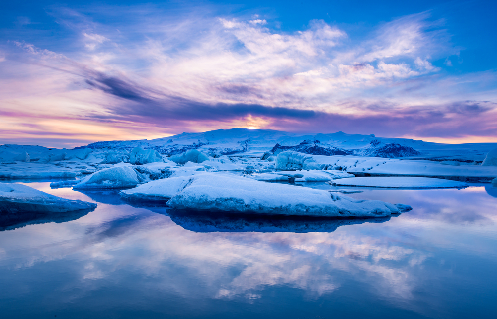 Jokulsarlon glacier lagoon is a good option for a day trip from Reykjavik