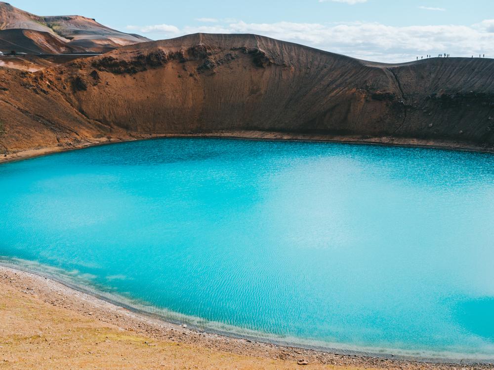 Askja volcano and caldera in Iceland