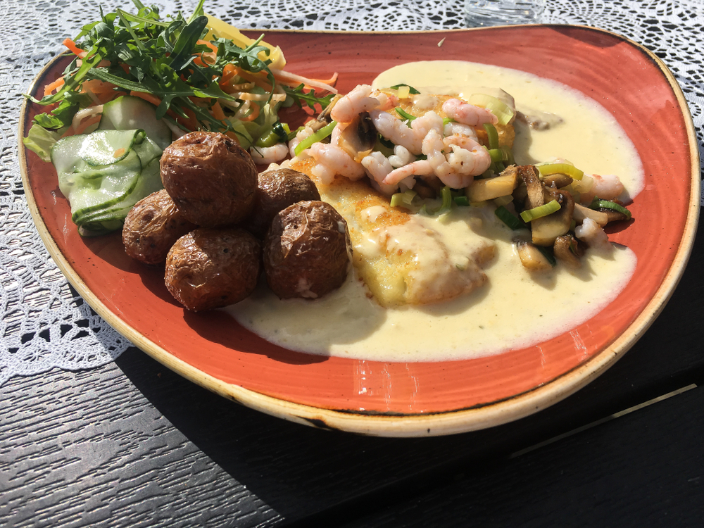 Get a delicious meal at one of Akureyri's restaurants