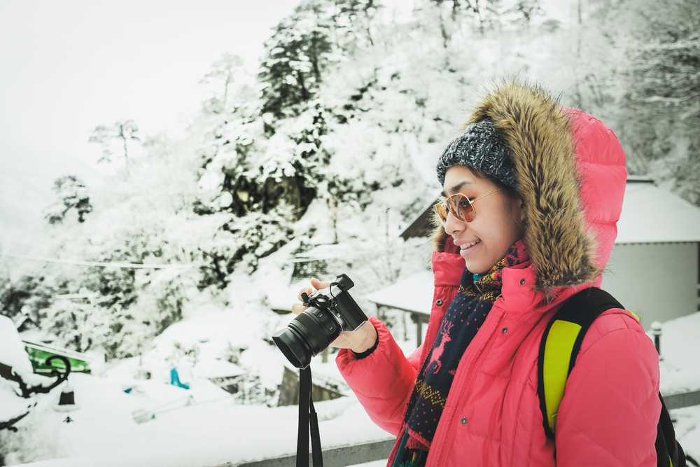 Protect your camera in the snow with Iceland travel photography tips