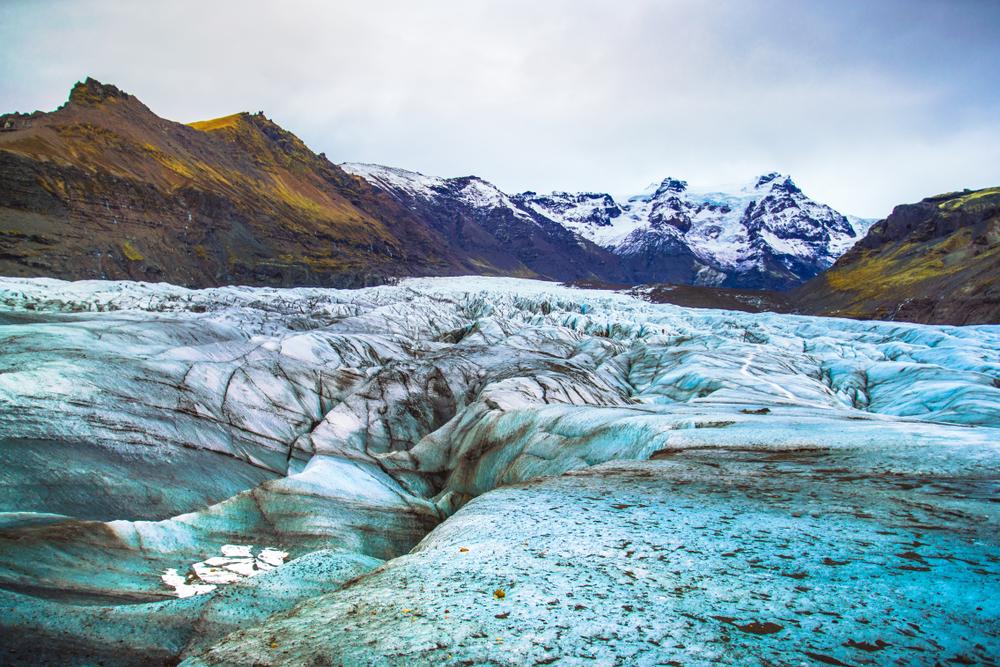 Hiking Skaftafell glacier in Vatnajökull National Park is a popular activity in Iceland
