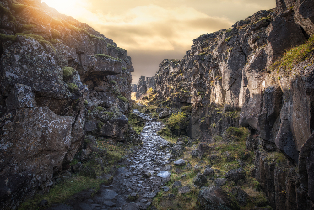 Game of Thrones fans will recognize Thingvellir as the filming location for the Eyrie and the Bloody Gate