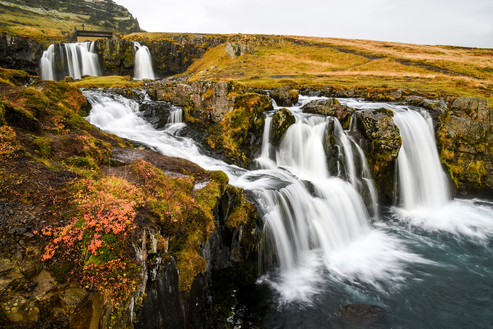 Visit Iceland when it's low season in the fall