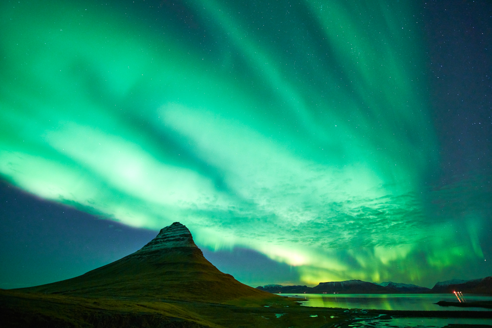 Iceland's Northern Lights at Kirkjufell in November