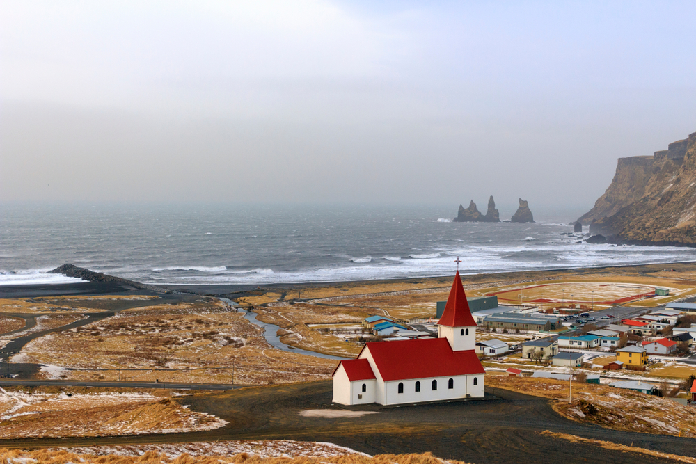 The Reyniskirkja is a beloved symbol of Vík and is a typical Icelandic church
