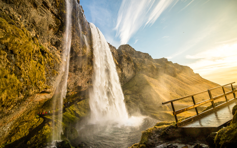 Seljalandsfoss is a must on any 5-day Iceland itinerary