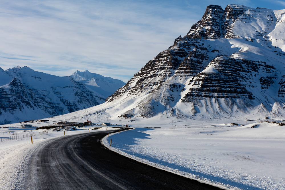 Make sure you give yourself adequate time to arrive when driving in Iceland in February