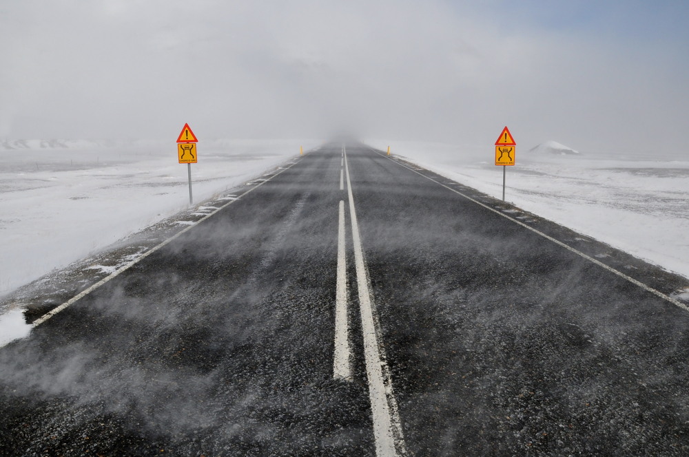 Winter driving tips for Iceland