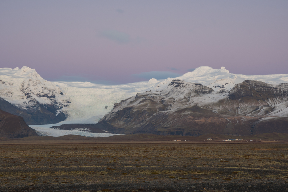 The stunning Hvannadalshnjukur peak is the highest in Iceland and part of Vatnajökull National Park