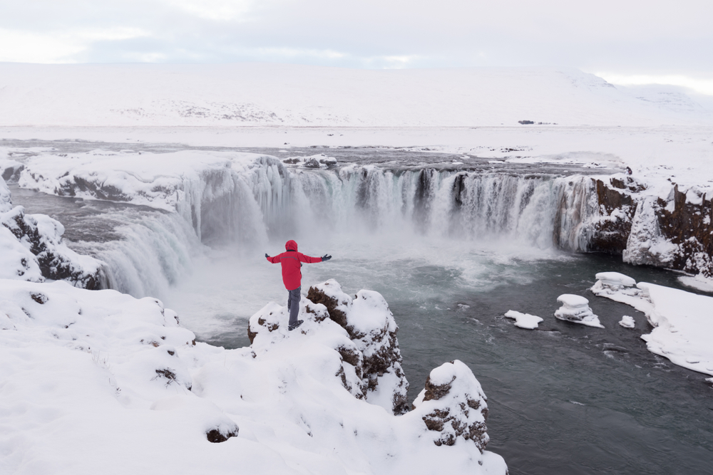 Winter is an enjoyable time to visit Iceland