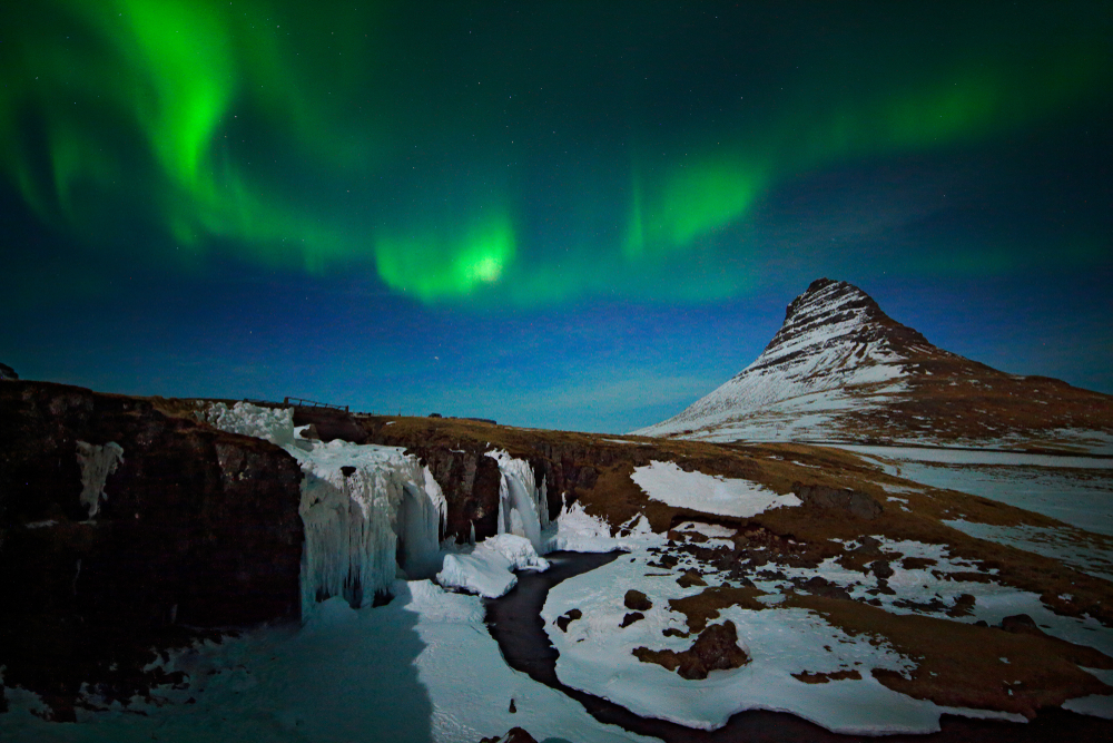 Iceland's weather in March make the Northern Lights a popular thing to do
