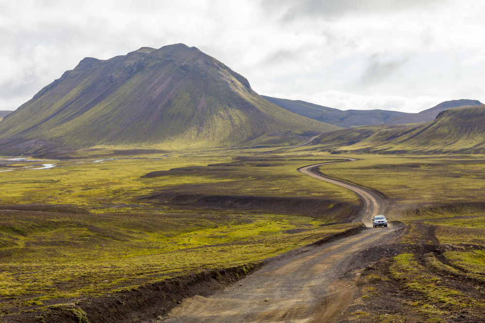 Iceland car rental insurance is necessary in the Highlands