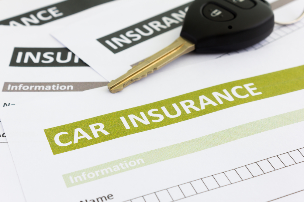 Car rental insurance form in Iceland