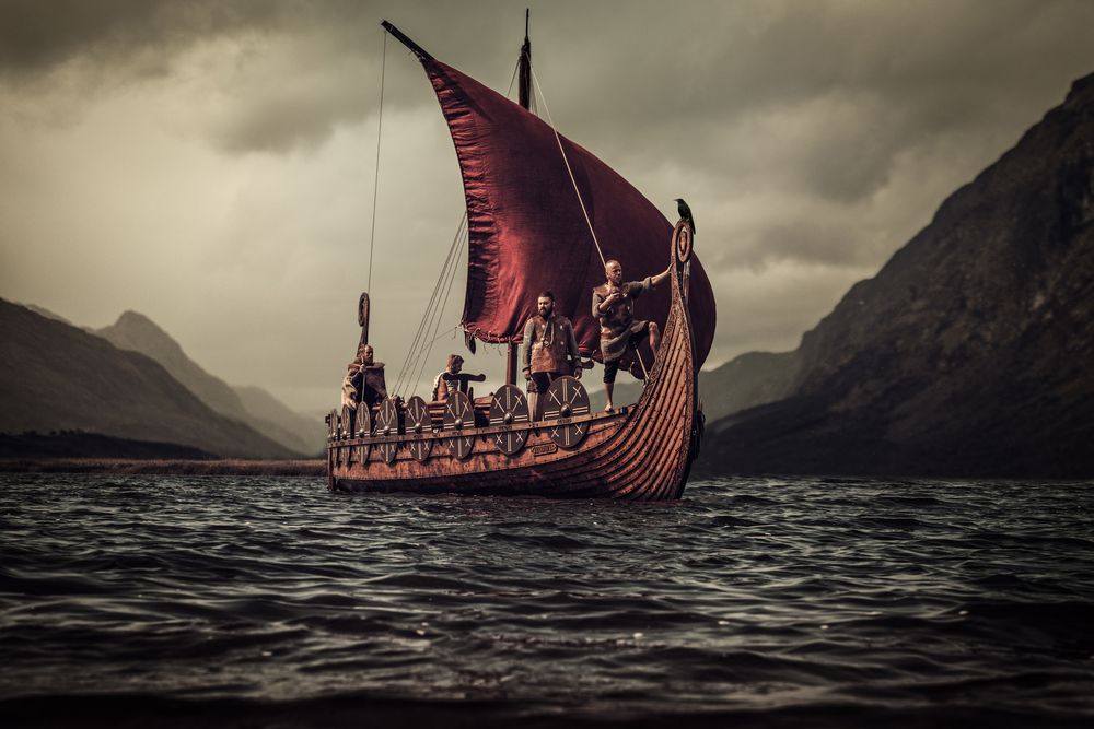 Books in Iceland like the Sagas tell Viking history