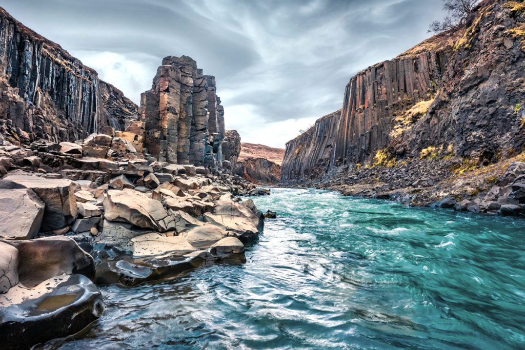 Stuðlagil Canyon is a newly discovered treasure in East Iceland