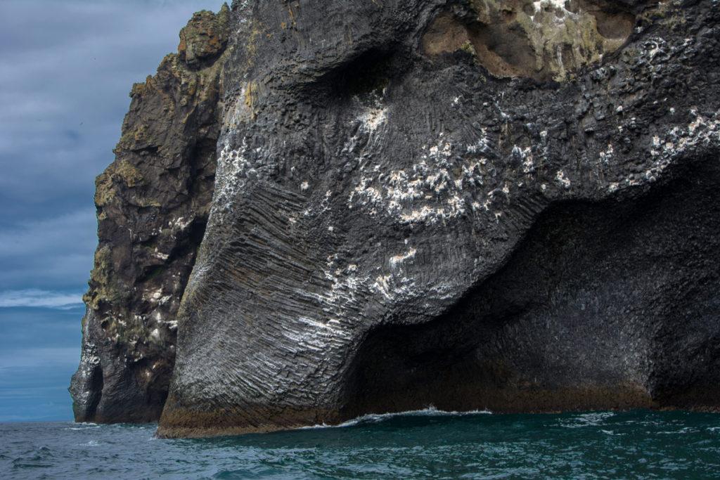 Elephant Rock Iceland on Heimaey in the Westman Islands