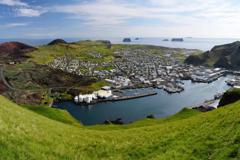 Elephant Rock Iceland is on Heimaey island
